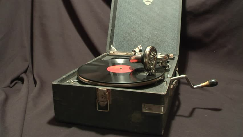 very old gramophone.