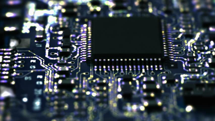 Circuit Board / Processor Chips / Data Streams....