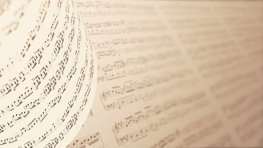music on paper