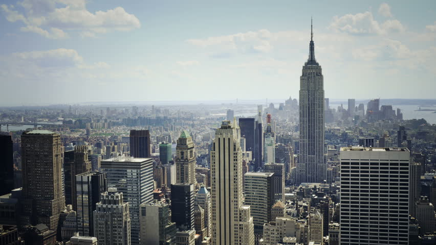 Skyline view of New York City | Shutterstock HD Video #1694161