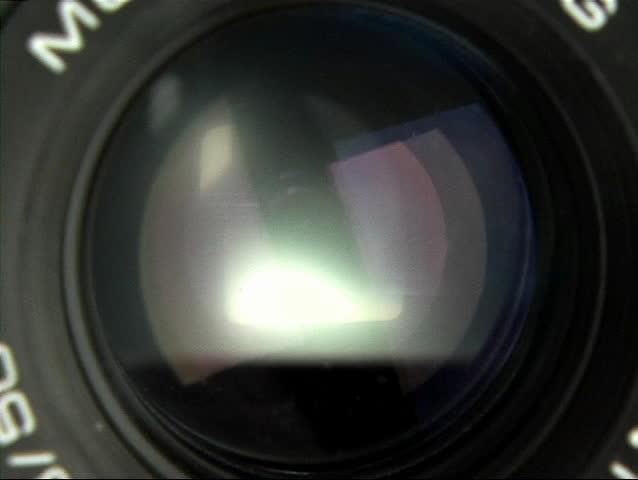 Camera diaphragm - SD stock video clip