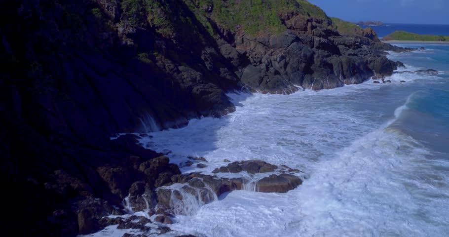 Virgin Islands, Caribbean, St. Thomas - 4K stock video clip