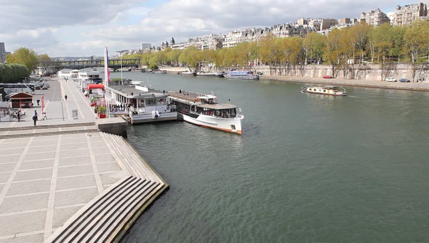 Paris river | Shutterstock HD Video #17269291