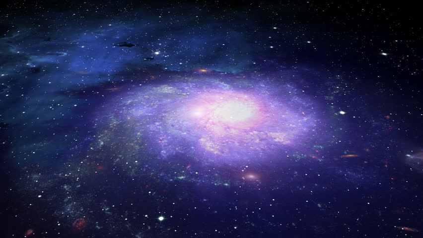 Deep Space Galaxy and Stars
