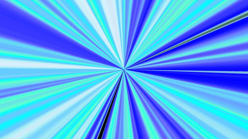 Light burst CG image - HD stock footage clip