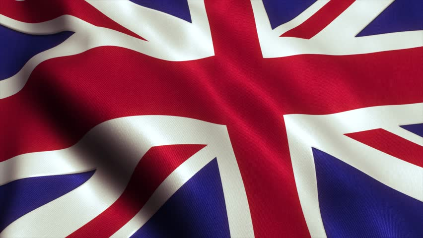 British UK Flag. Seamless Looping Animation. 4K High Definition Video | Shutterstock HD Video #17568802