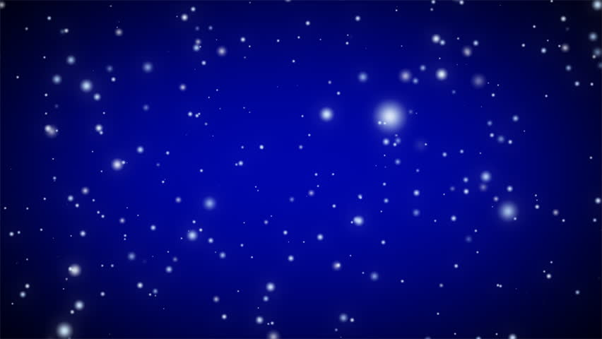 Dark Blue Sky Background: Night Sky With Stars And Full Moon Background. Full Moon