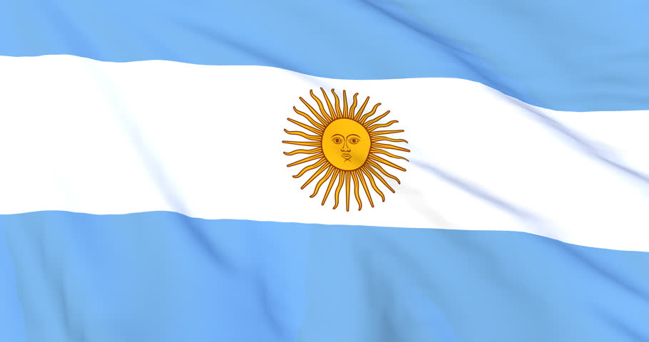 blue banner with yellow-colored sun