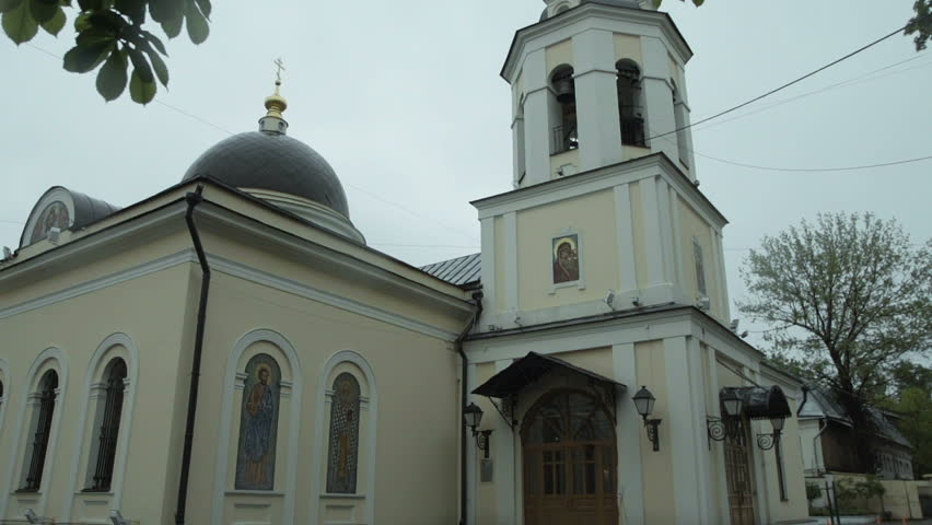 The Orthodox Church at Summer - HD stock footage clip