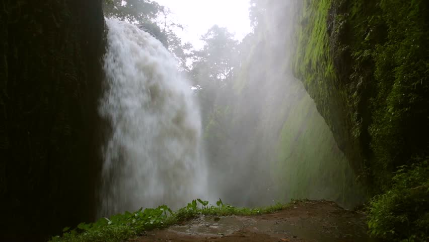 Powerful and beautiful waterfall in the forest of Thailand | Shutterstock HD Video #17921296