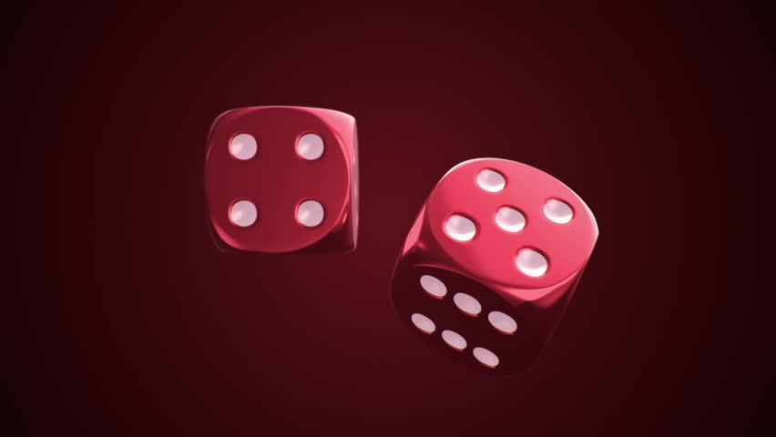 Casino dice rotating stock footage video 1464118 for Asino amiatino