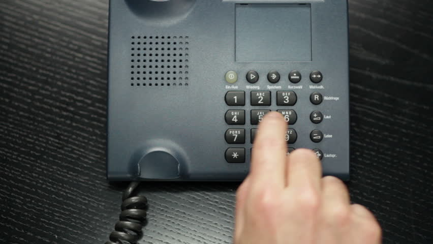 using Business Phone - compilation - HD stock footage clip