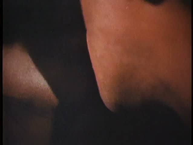 Close-up of couple about to kiss - SD stock footage clip