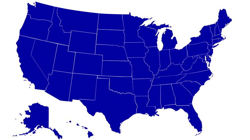 DENVER CO CIRCA Presidential Nominee Barack Obama - Denver colorado in us map