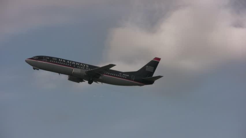 US Airways Boeing 737 passenger jet