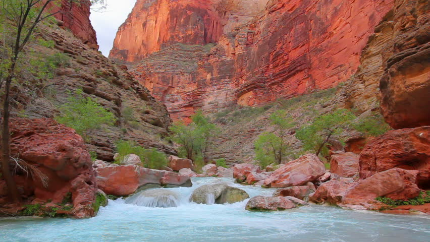 Beautiful Desert Stream in the Grand Canyon #1893097