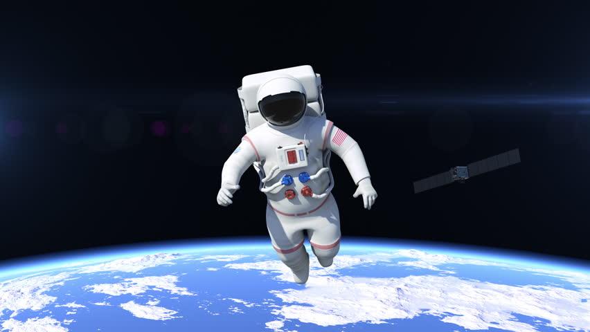 astronaut behind - photo #39