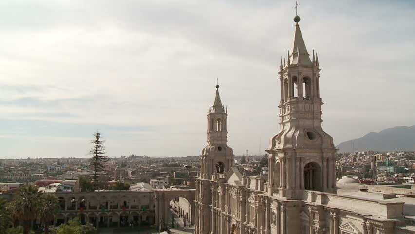 Arequipa Plaza Church