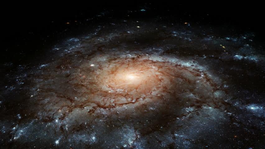 Spiral Galaxy - HD stock video clip