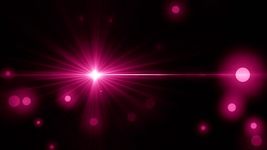 beautiful light_flash_2_pink - HD stock footage clip
