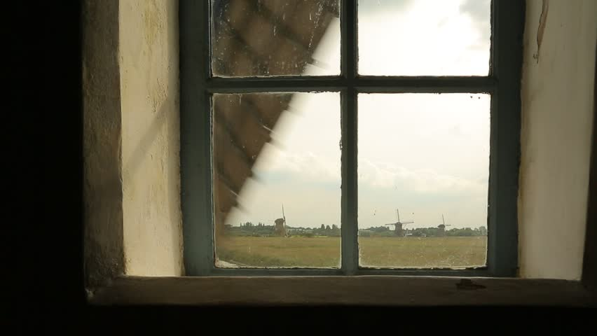 Old windmills view from inside one | Shutterstock HD Video #19269847