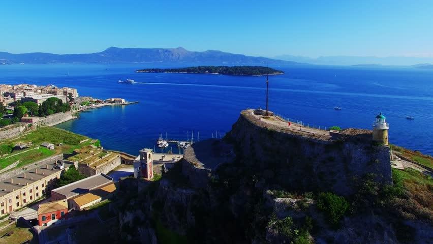 Замки остров Эгейские острова