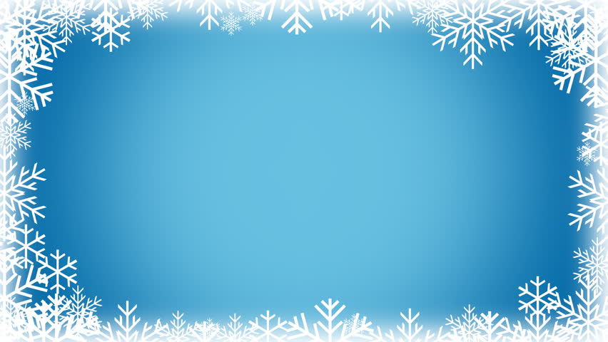 Snow Page Border snow border stock footage video - shutterstock