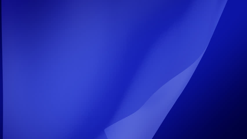 An abstract blue cloth flowing in the wind. - HD stock footage clip