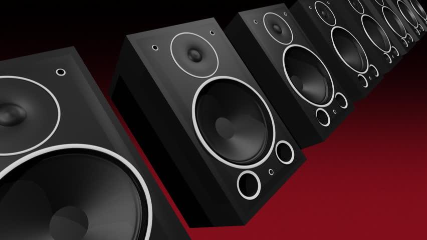 2 beats per second (120bpm). Thumping woofer speakers.- | Shutterstock HD Video #1938700