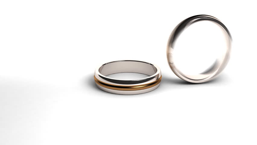 expensive silver ring turning on themselves