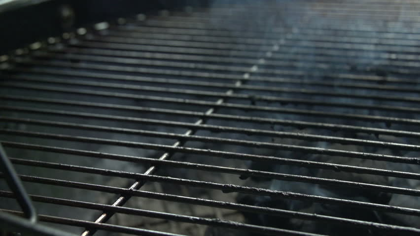 Charcoal BBQ In Action. Waiting For The Charcoal To Burn White And Ready To Cook Upon. | Shutterstock HD Video #19550440