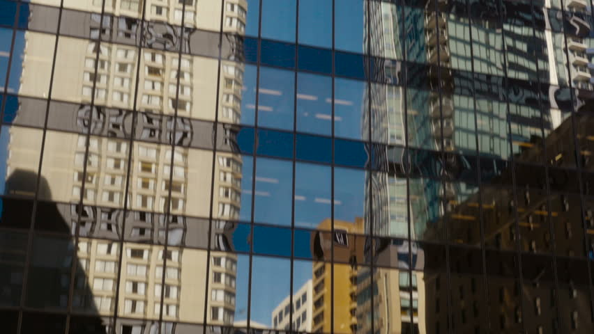 Downtown glass building in Vancouver | Shutterstock HD Video #19574362