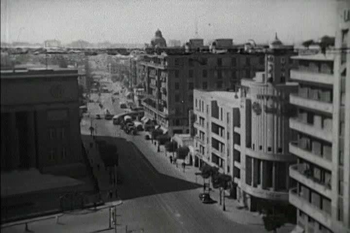 Cairo in the 1950s is a bustling, modern city, with growing industries ...