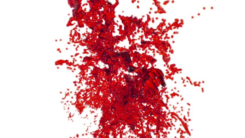Red Splatter Hd - 0425