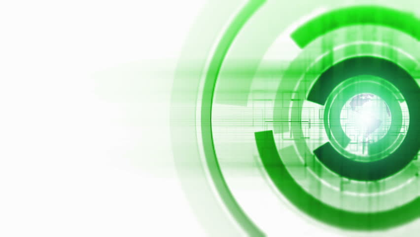 Digital Ring Spin 3 - HD stock video clip