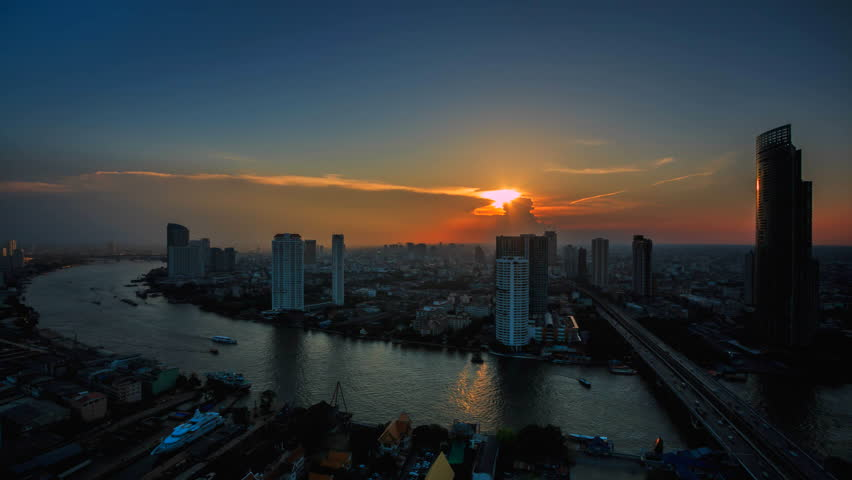 Time lapse bangkok city of Thailand | Shutterstock HD Video #19951183