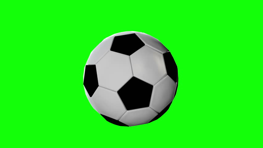 Soccer Ball Flying From Far Away, Jumping And Rolling ... Rolling Soccer Ball