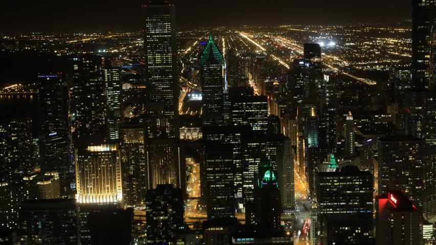 4K UltraHD Timelapse aerial of the Chicago city center  | Shutterstock HD Video #20166103