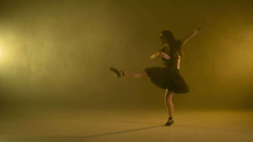 Ballerina in Studio performing | Shutterstock HD Video #20268289