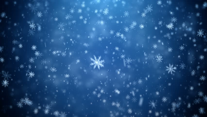 Winter Christmas background, falling snowflakes | Shutterstock HD Video #20564992