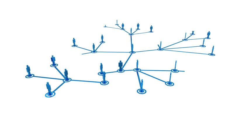 Network growing loop