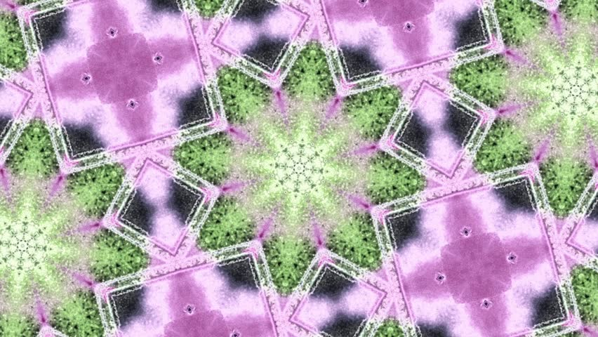 Rotating abstract colorful digital kaleidoscopic loopable motion graphic background. Futuristic loop psychedelic hypnotic backdrop   | Shutterstock HD Video #21022669
