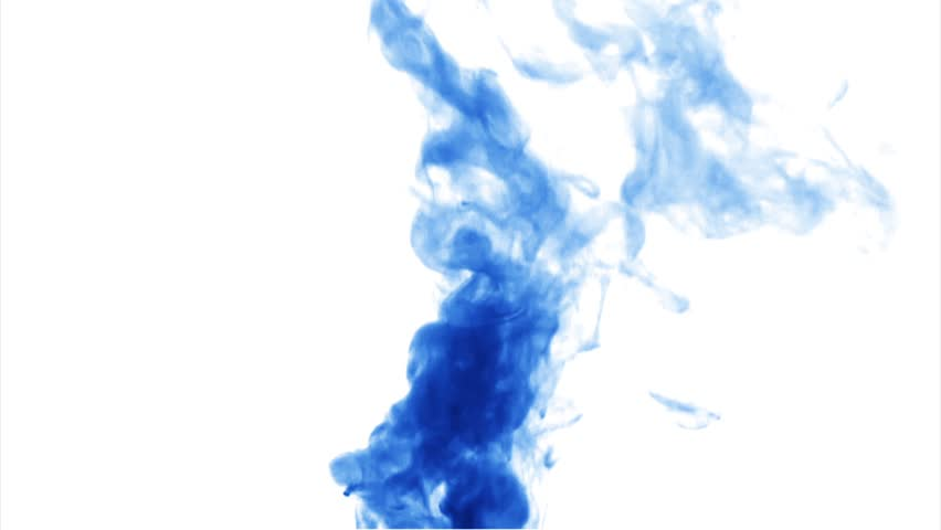 Burning Blue Fire Ball On A White Background With Alpha ...