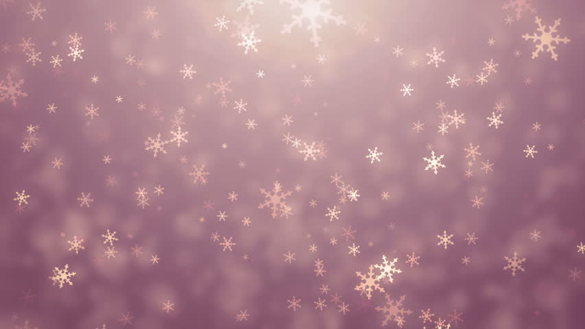 falling snow on red background stock footage video 1750664