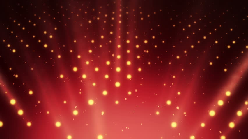 Abstract background with wall from lamps of bright light. Glowing and bright light bulbs. Projector of light rays. Animation of seamless loop. | Shutterstock HD Video #21158875