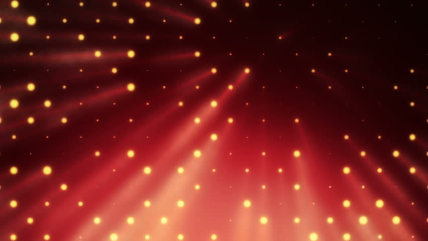 Abstract background with wall from lamps of bright light. Glowing and bright light bulbs. Projector of light rays. Animation of seamless loop. | Shutterstock HD Video #21158884