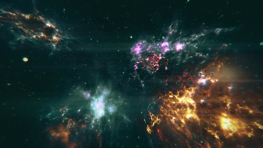 Loopable Galaxy With Nasa Images. Stock Footage Video ...