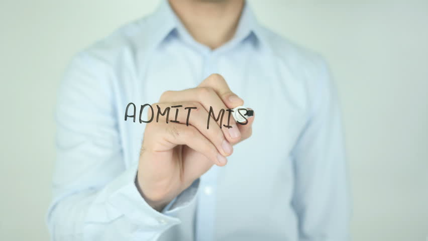 Header of admit