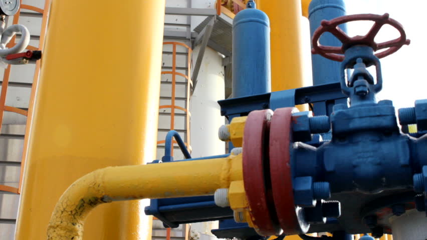 gas oil plant - HD stock video clip