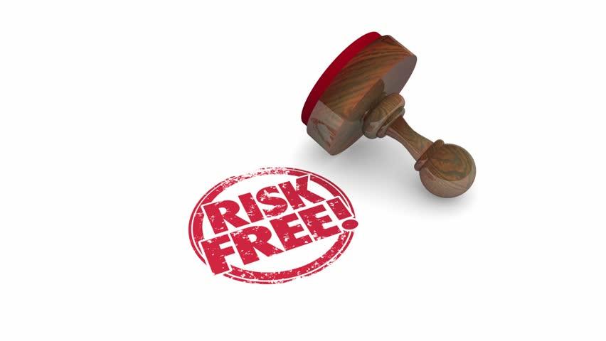 Risk Free Stamp 3d Illustration | Shutterstock HD Video #21683197